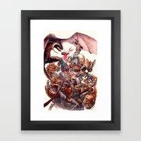 The Barbarian Framed Art Print