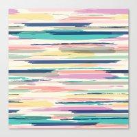 Painted_Stripe Canvas Print