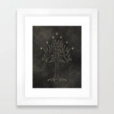 Lord of the Rings: Tree of Gondor Framed Art Print