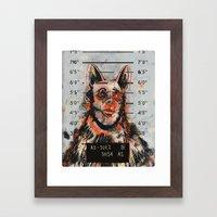 Waldick Dogman Framed Art Print
