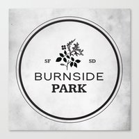 Burnside Park Canvas Print