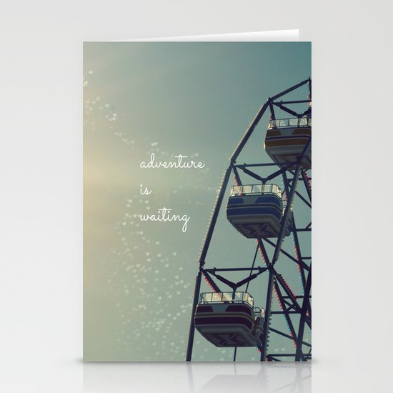 Adventure is Waiting Stationery Card