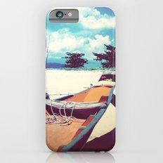 Longboat on the Shore, Thailand iPhone 6 Slim Case