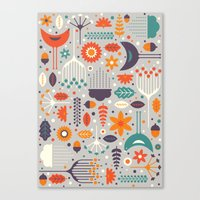 Flora & Fauna Canvas Print