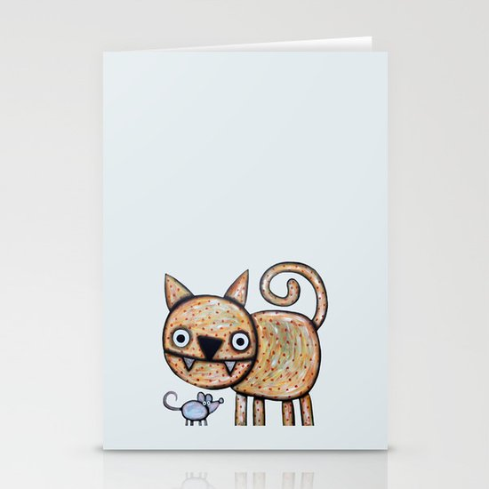 Secret meeting Stationery Card