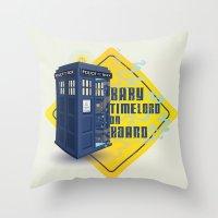 Doctor Who Tardis - Baby… Throw Pillow