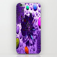 Purple Blossom iPhone & iPod Skin