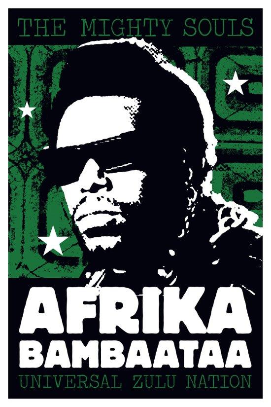 The Mighty Souls: Afrika Bambaataa Art Print
