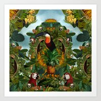 Tropical II Art Print