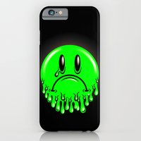 Slimey - neon green iPhone 6 Slim Case