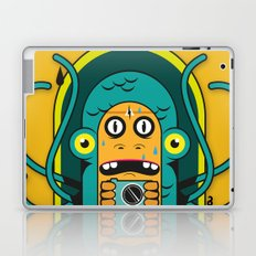 Danger at the moment of the click Laptop & iPad Skin