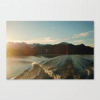 Doubtful Sound Canvas Print