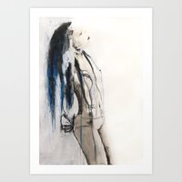 True To Her Creed, She D… Art Print