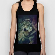 WOLF II colored Unisex Tank Top