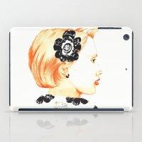 Illustration With Black … iPad Case