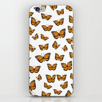 Papillons iPhone & iPod Skin
