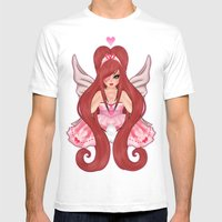 Valentina: Valentines Sp… Mens Fitted Tee White SMALL