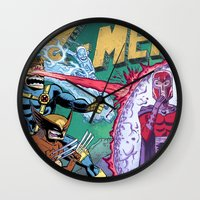 X-Men! Wall Clock
