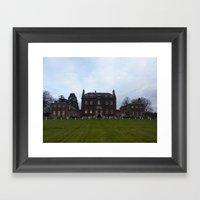 Culloden Manor Framed Art Print