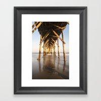 Pier III Framed Art Print