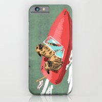 Two Pugs in a Speed Boat iPhone 6 Slim Case
