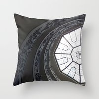 Staircase To Vatican  Throw Pillow