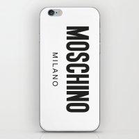 Moschino Milano iPhone & iPod Skin