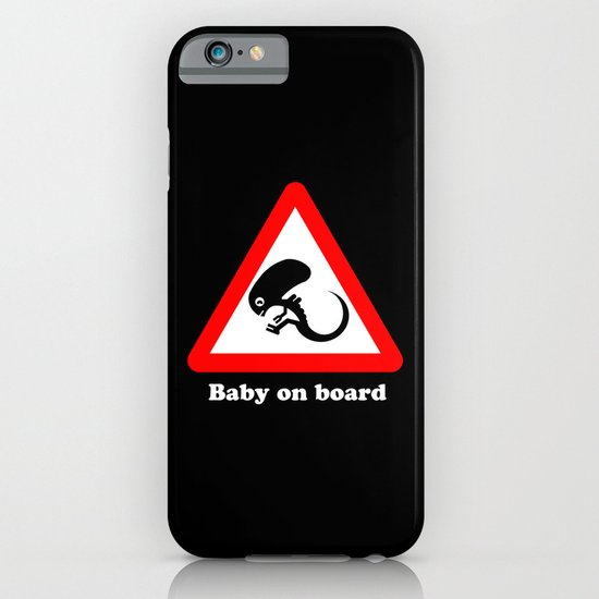 Baby on board iPhone & iPod Case