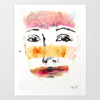 Head Shot #3 Art Print