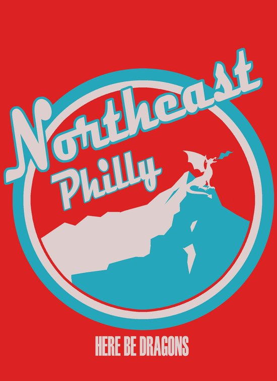 Northeast Philly Art Print