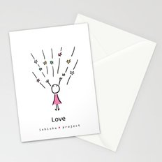 LOVE by ISHISHA PROJECT Stationery Cards