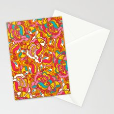 the jazz cloud Stationery Cards