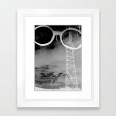 Giants in the Sky Framed Art Print