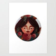 Blushing Beauty Art Print