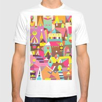 Structura 1 Mens Fitted Tee White SMALL