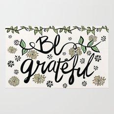 Be Grateful Rug