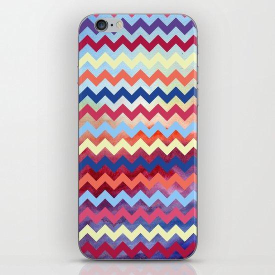 Watercolor Chevron II iPhone & iPod Skin