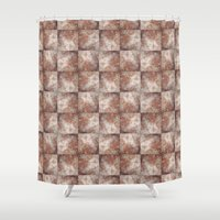 Wall Pattern Shower Curtain