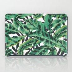 Tropical Glam Banana Leaf Print iPad Case