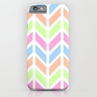 iPhone & iPod Case featuring SPRING CHEVRON 3 by natalie sales