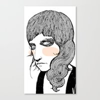 Canvas Print featuring Plain Patti by Le Butthead