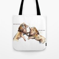 Dress Fight - Blue Or Wh… Tote Bag