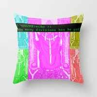 Seven Papal Army Throw Pillow