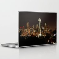 Simply Seattle Laptop & iPad Skin