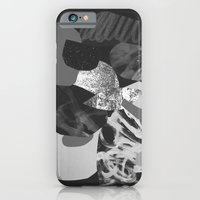 iPhone Cases featuring Shapes by Fanny Demarais
