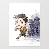 Loot Canvas Print