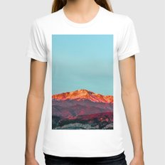 Peak Womens Fitted Tee White SMALL