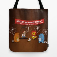 Wrath - Anger Management Tote Bag