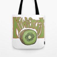 Kiwifruit. Tote Bag