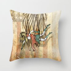 Where love went to die or american woman Throw Pillow